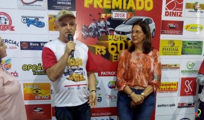 661ee7c78 Vice-presidente da Acic, João Batista, fez a abertura do sorteio